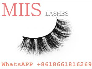 100% handmade mink fur false eyelashes