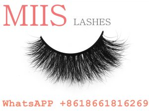handmade human hair eyelashes